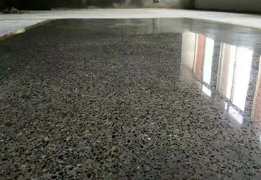 署光工业混凝土地坪装饰案例