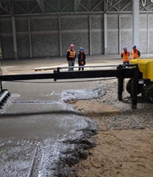 混凝土一体化地坪施工